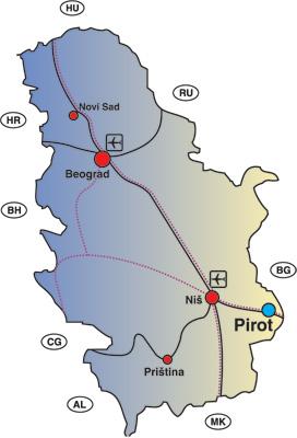 Mapa Srbije Pirot Superjoden